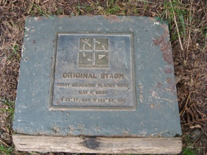 Original Stash Tribute Plaque in Beaverscreek, Oregon. Photo Credit: Fjon