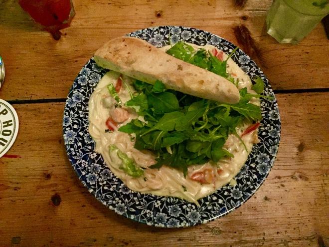 Seafood Linguini at PJ O'Hare's