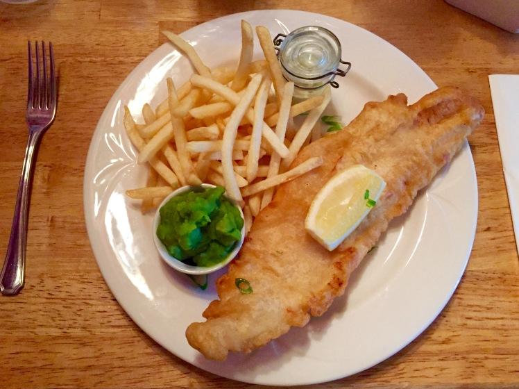 Traditional Fish & Chips at Kingfisher Bistro