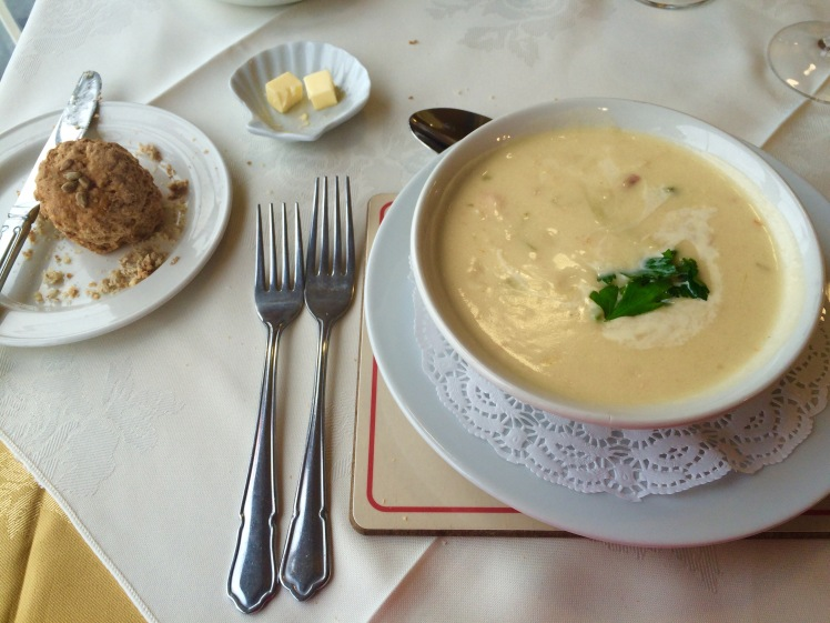Chunky Cliff House Seafood Chowder