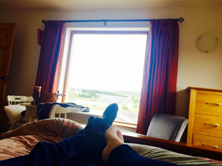 Chilling at our home from home in Cashel