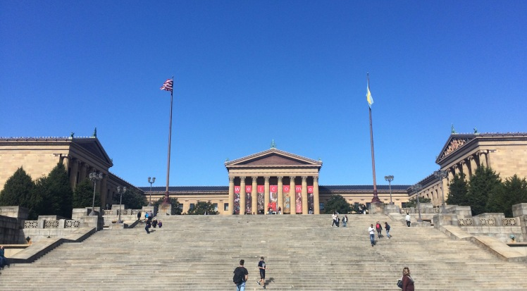 The famous steps