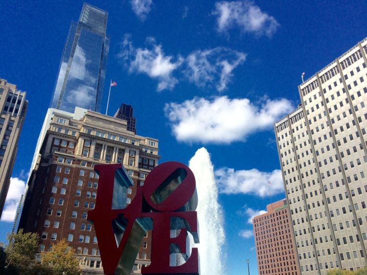 LOVE Philadelphia in Love Park