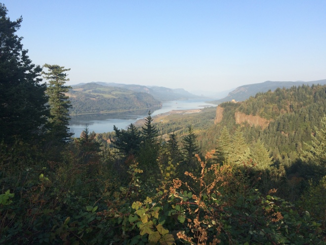 Columbia River Gorge - View from Portland Women's Forum