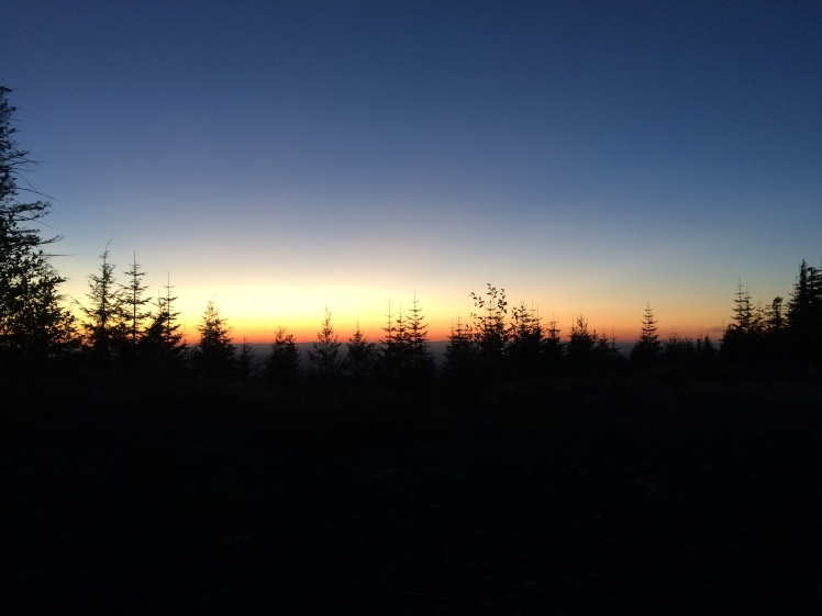 Sunset on Wildcat Mountain