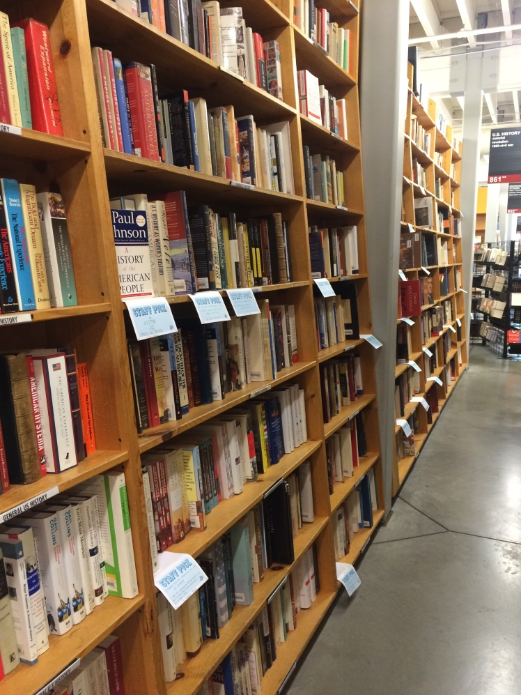 Powell's City of Books: So. Many. Books.