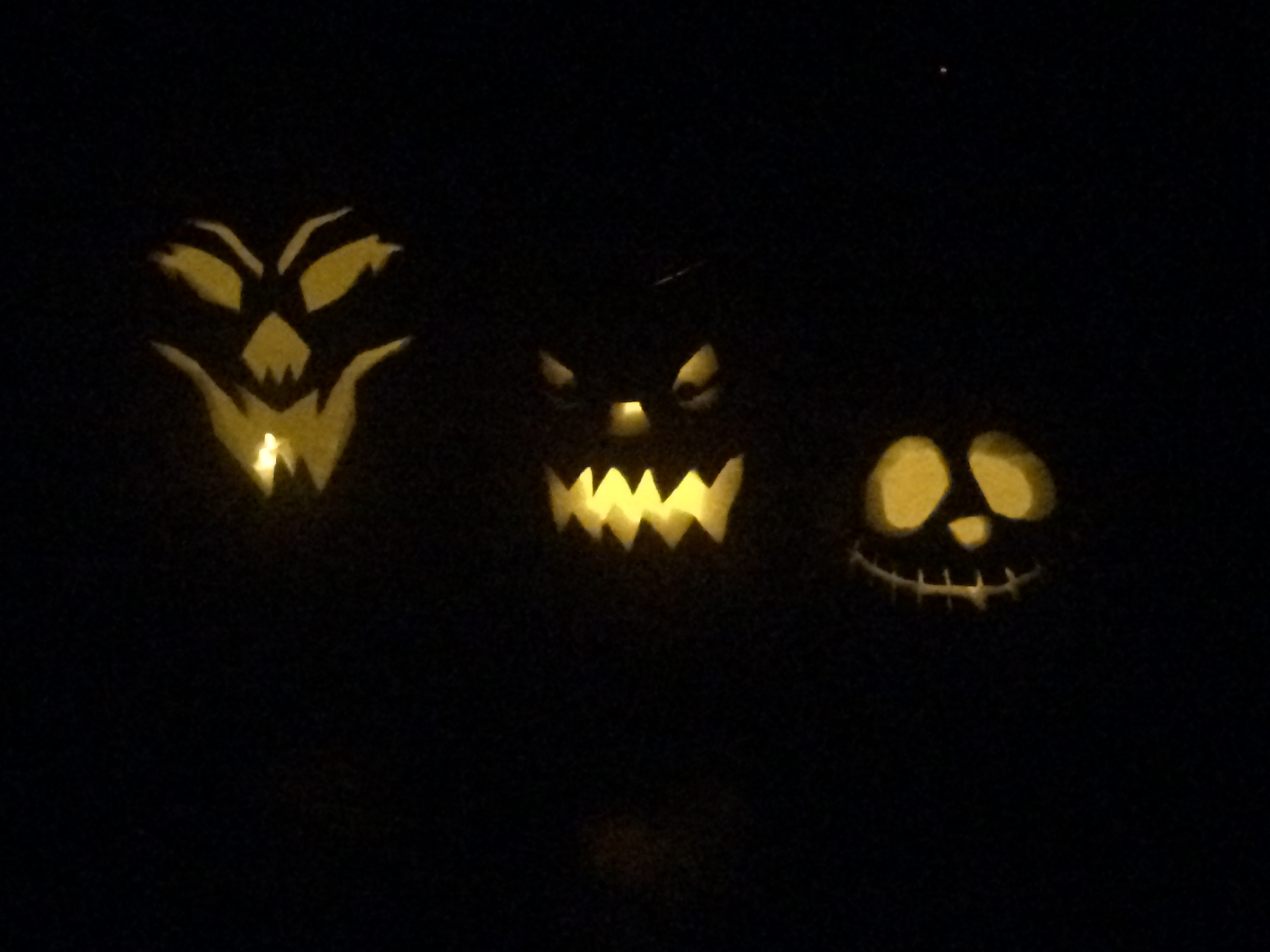 Carved pumpkins: which one is mine?
