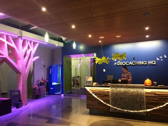 Inside Geocaching HQ