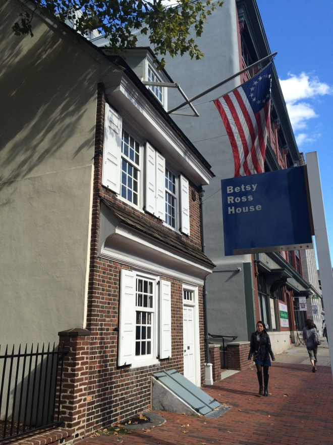 Betsy Ross House on Arch Street