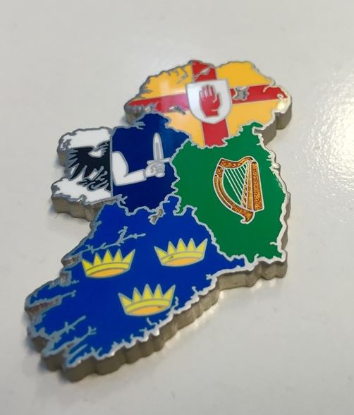 Ireland geocoin front