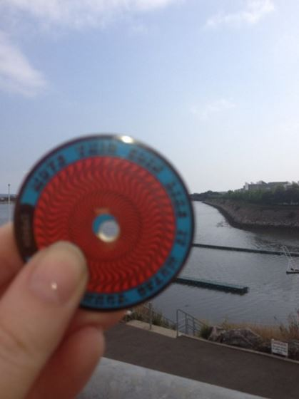 First geocoin I ever found geocaching