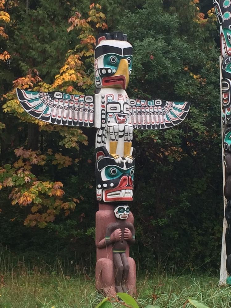 Totem Pole in Stanley Park