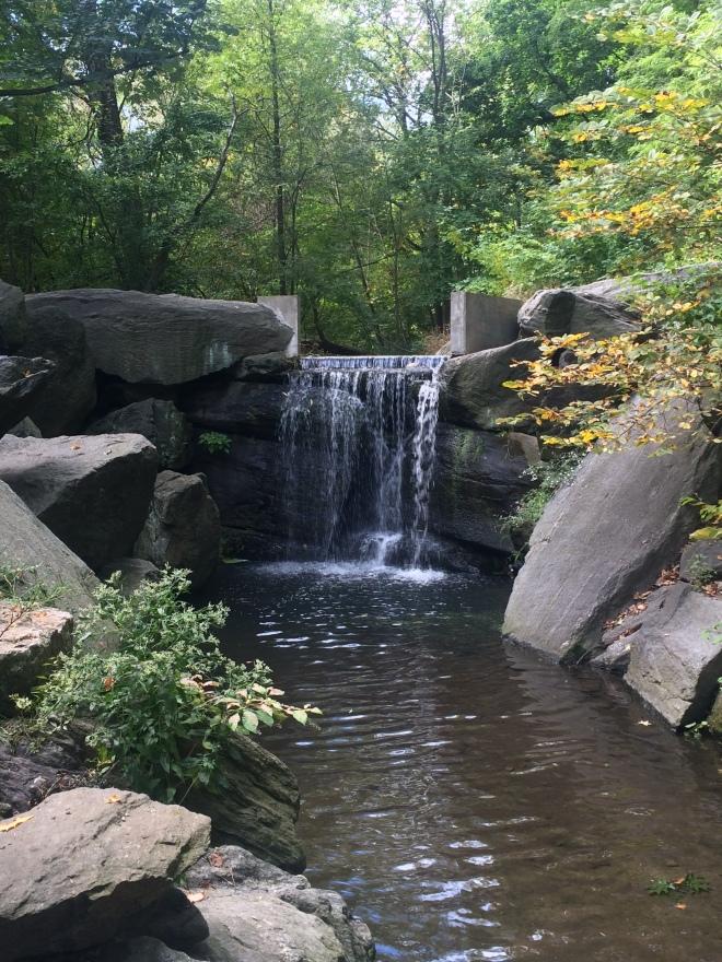 Waterfall near Huddlestone Arch
