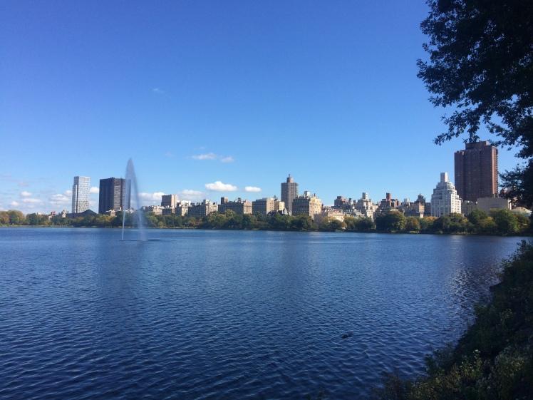 The reservoir with geyser