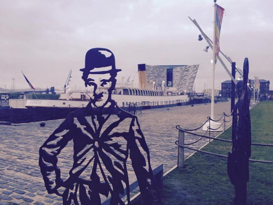 titanic belfast chaplin