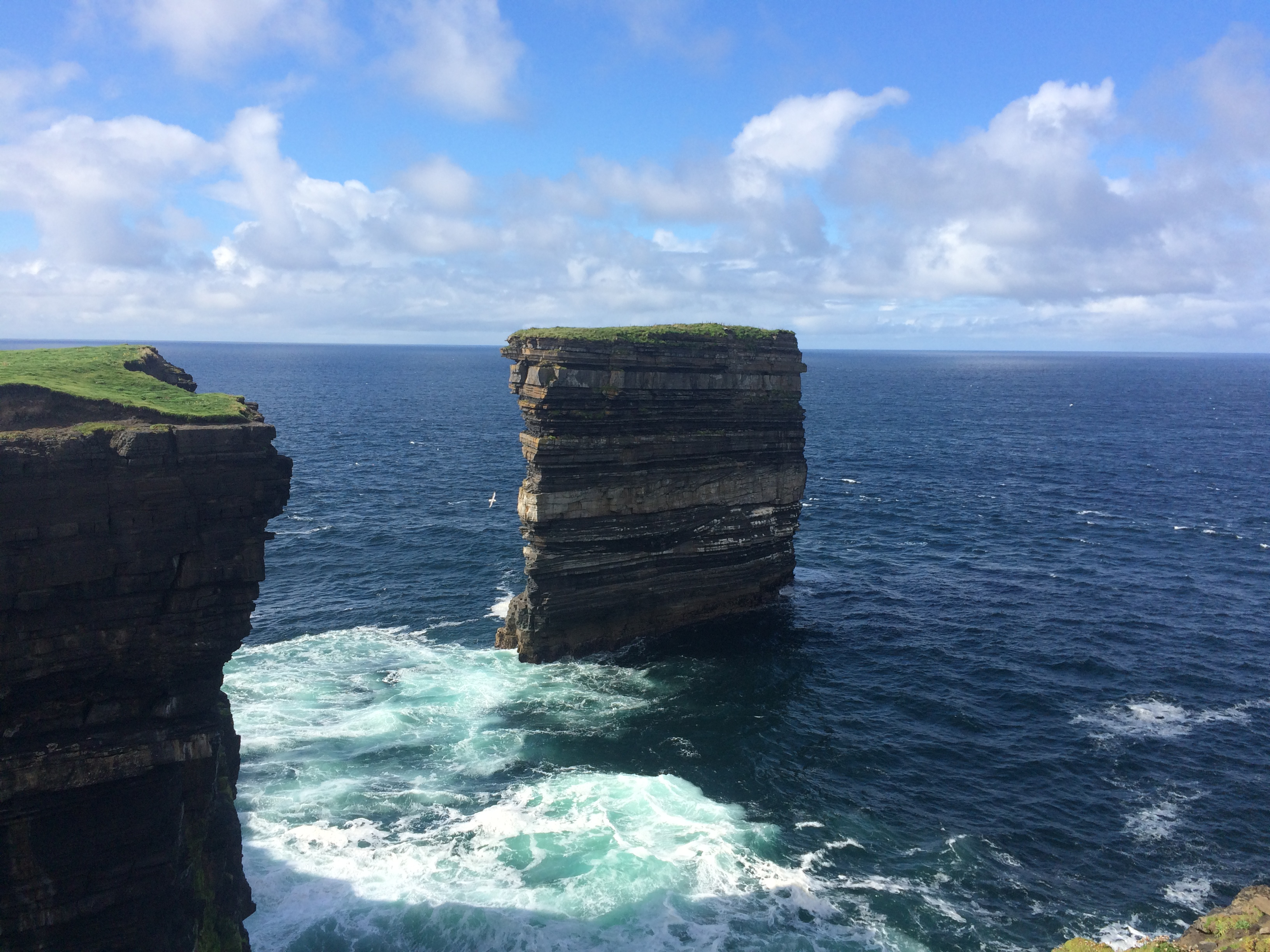 dun briste sea stack mayo
