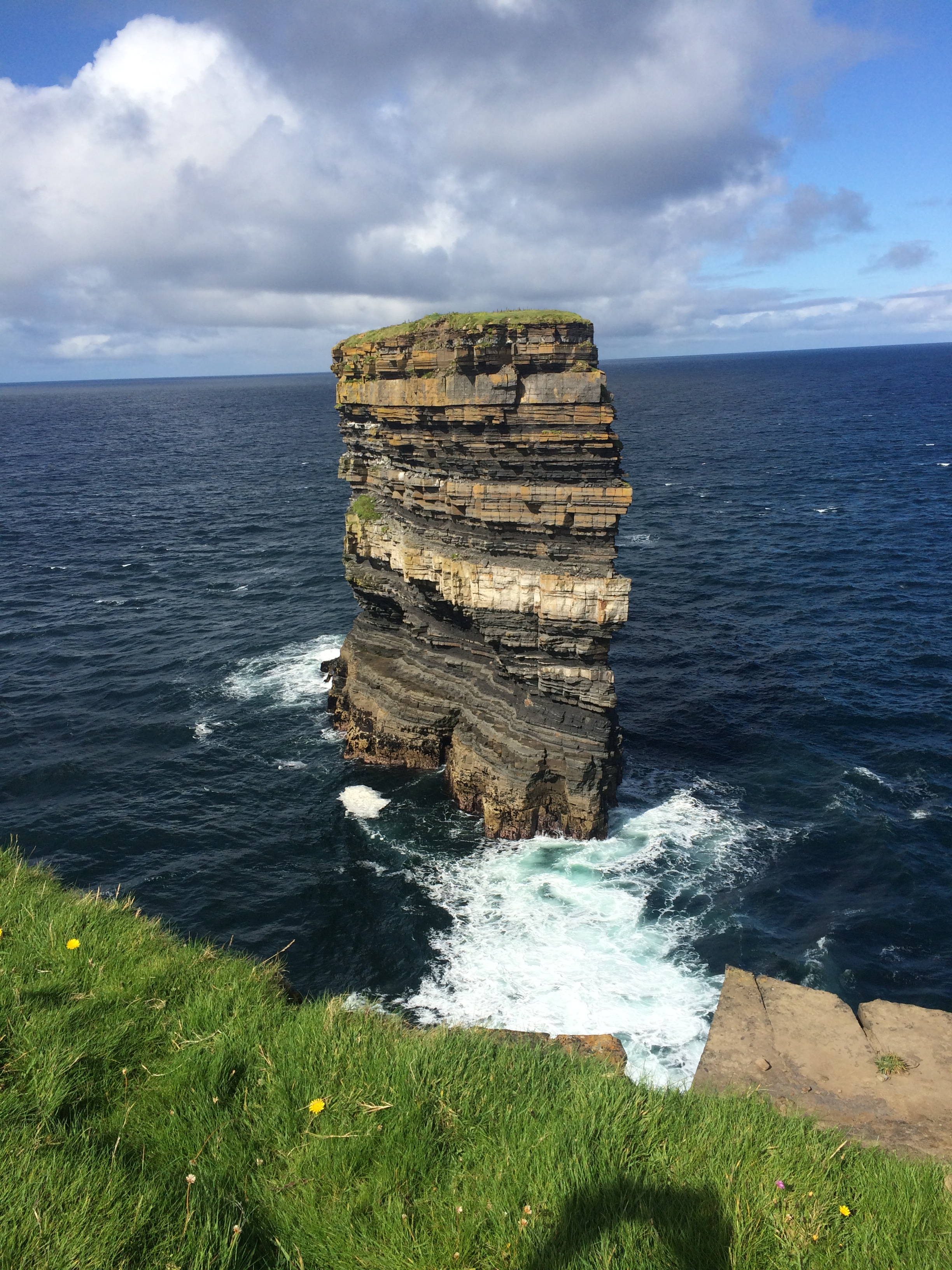 dun briste sea stack downpatrick mayo