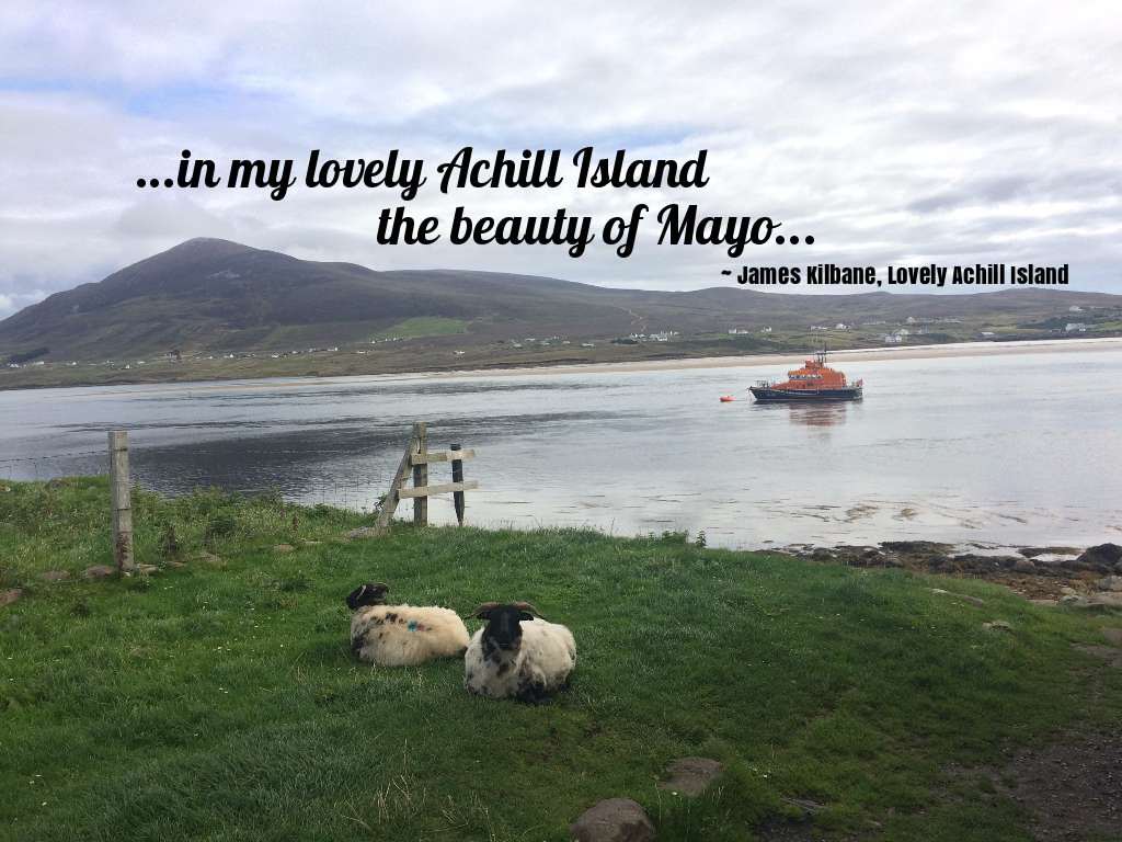 lovely achill island james kilbane