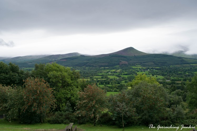 Geocaching weekend in Tipperary, taking in the Glen of Aherlow and Cashel