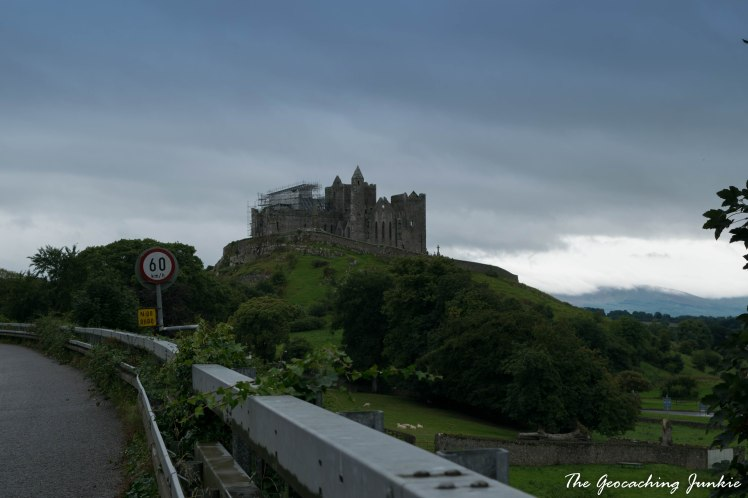 Geocaching in County Tipperary, Ireland at the Rock of Cashel