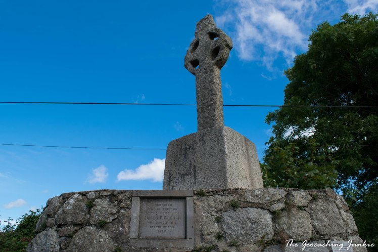 I Never Knew That: Geocaching brought me to Tully Church and Lehaunstown Crosses in Dublin
