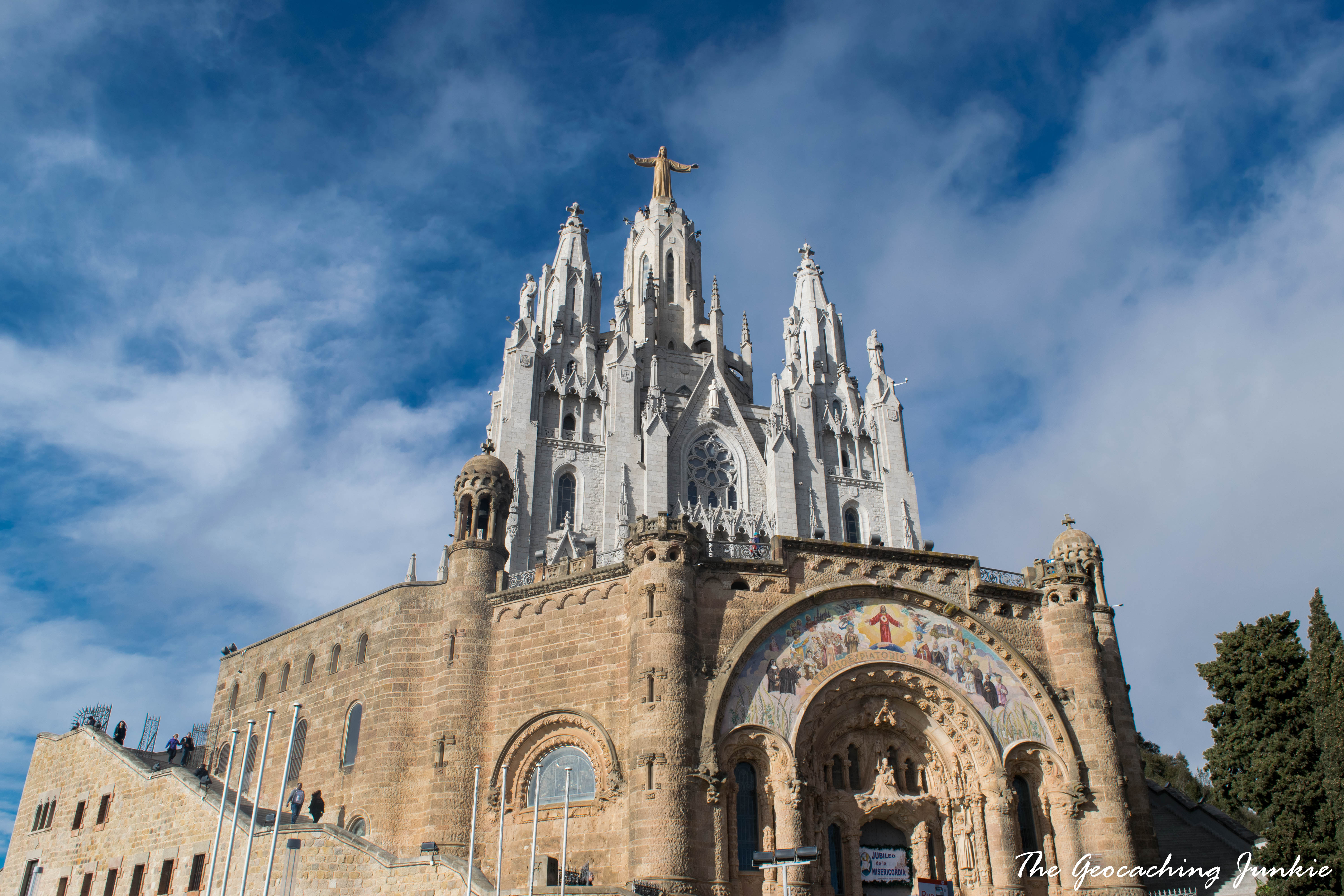 The Geocaching Junkie: Tibidabo Barcelona