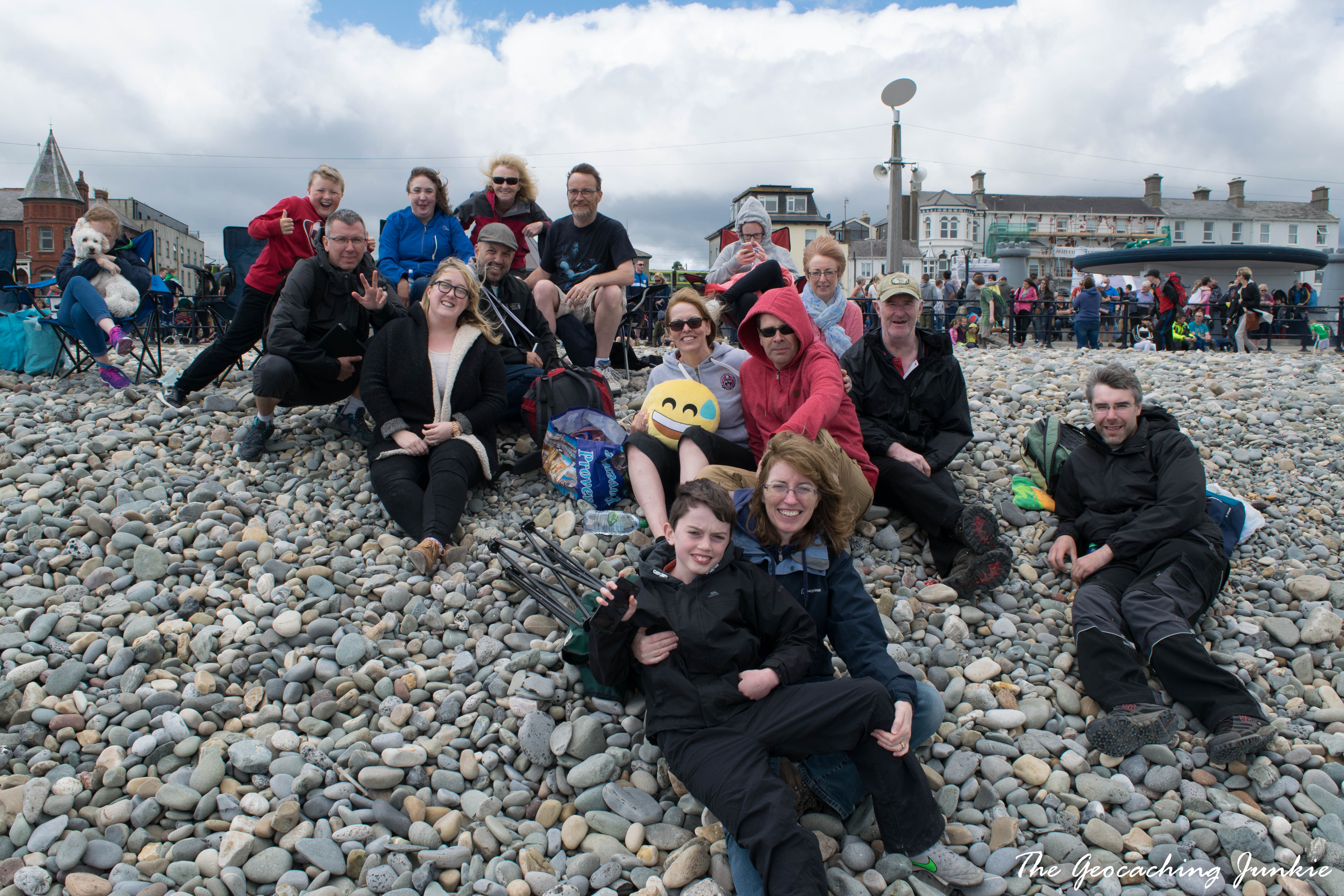 The Geocachingn Junkie bray event