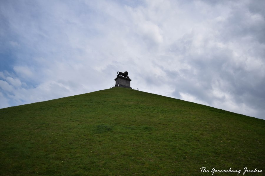 The Geocaching Junkie: Butte du Lion Waterloo