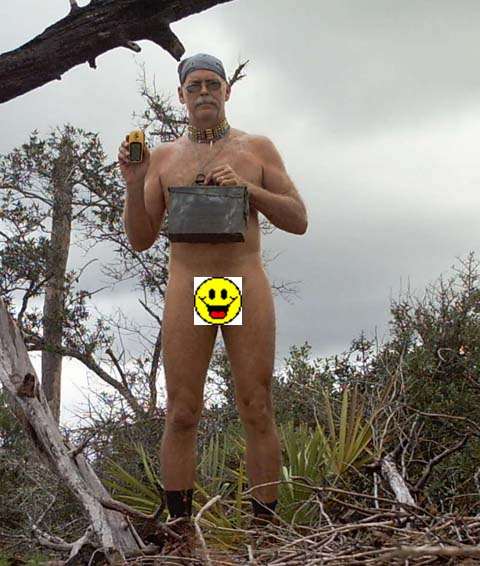 The Geocaching Junkie - Why do some people geocaching nude?
