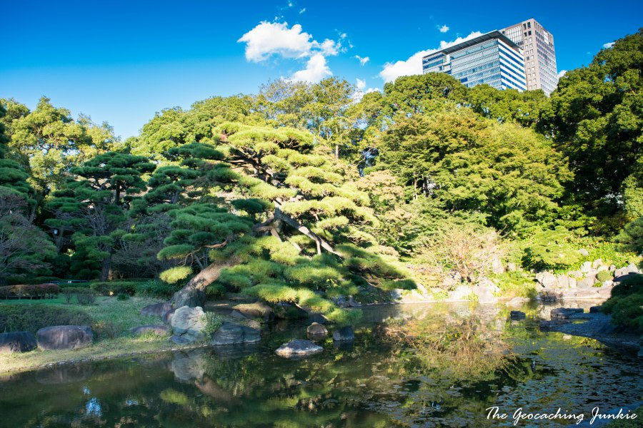 The Geocaching Junkie - Tokyo - Imperial Palace East Gardens