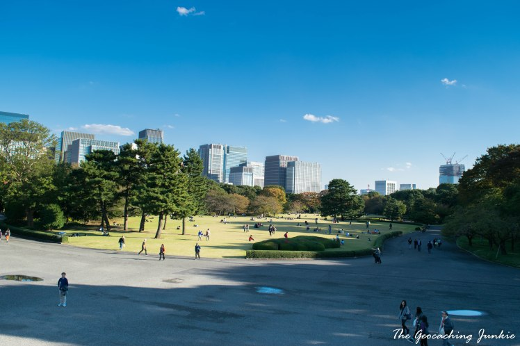 The Geocaching Junkie - Tokyo- Imperial Palace East Gardens