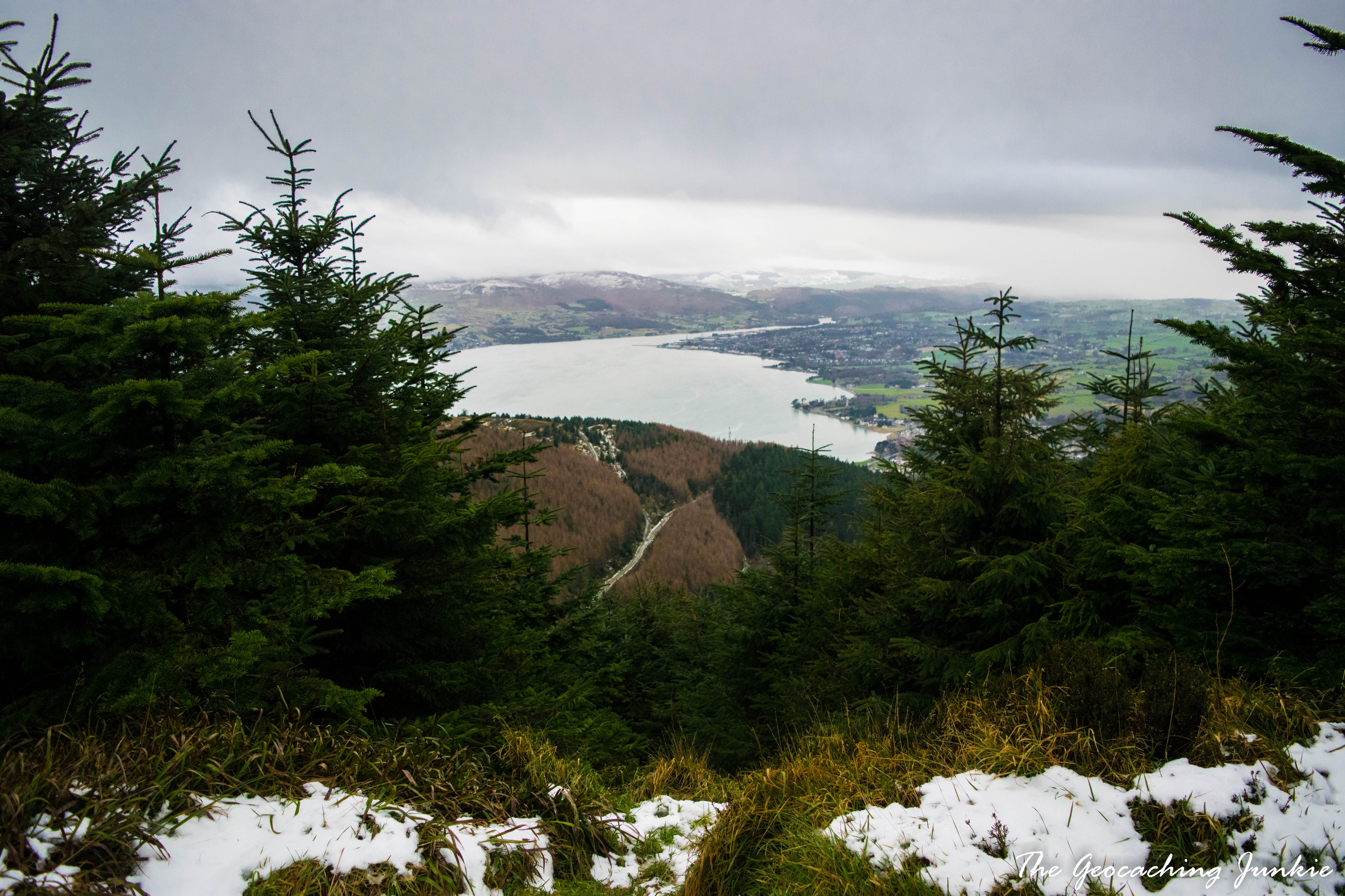 The Geocaching Junkie - Starting out my New Year's Resolutions in January at Kilbroney Forest Park, County Down with a geocaching group