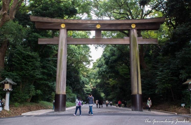 The Geocaching Junkie - Tokyo - Meiji Shrine