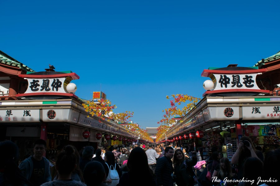 The Geocaching Junkie Sensoji Tokyo