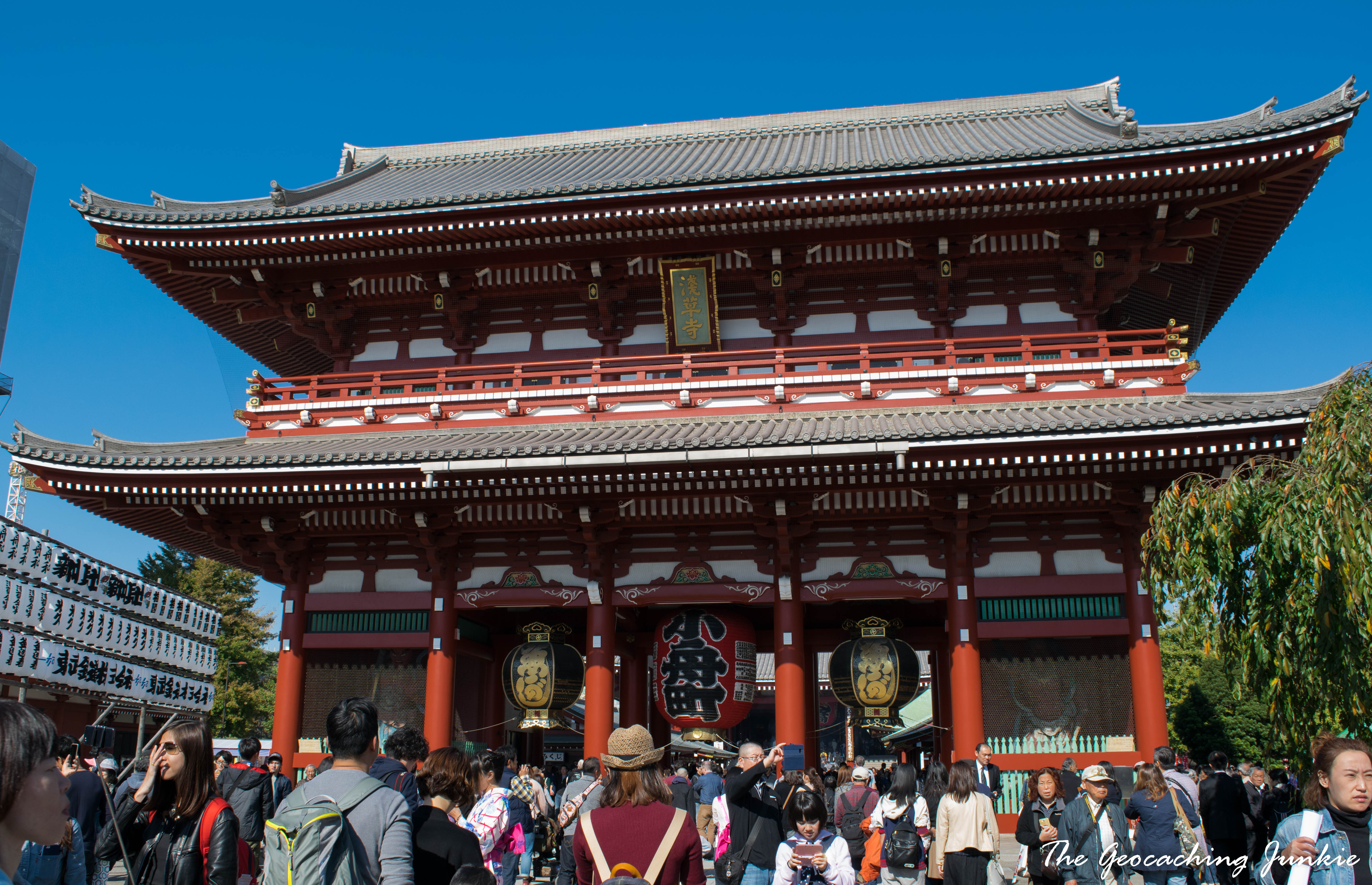 The Geocaching Junkie Senso-ji Temple Tokyo