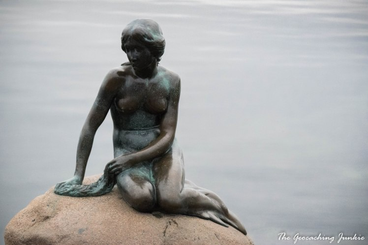 The Geocaching Junkie - The Little Mermaid - Copenhagen