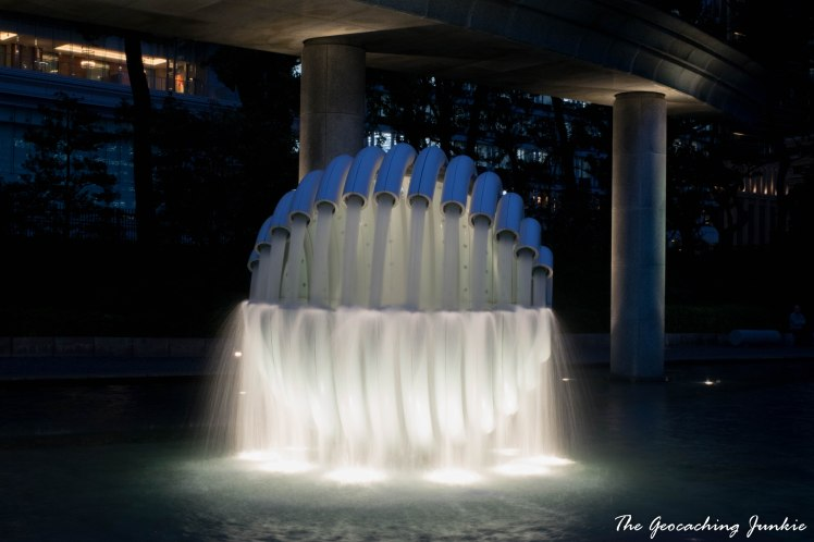 The Geocaching Junkie - Tokyo Fountain Park