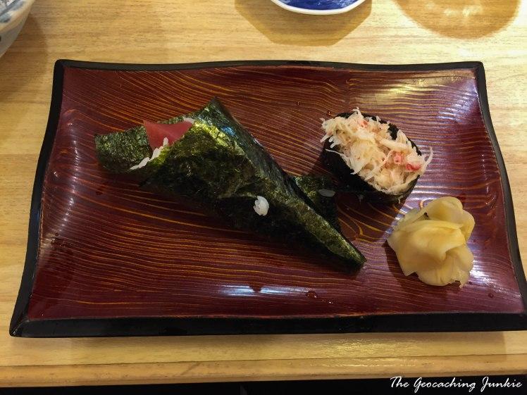 The Geocaching Junkie Sushi Tokyo