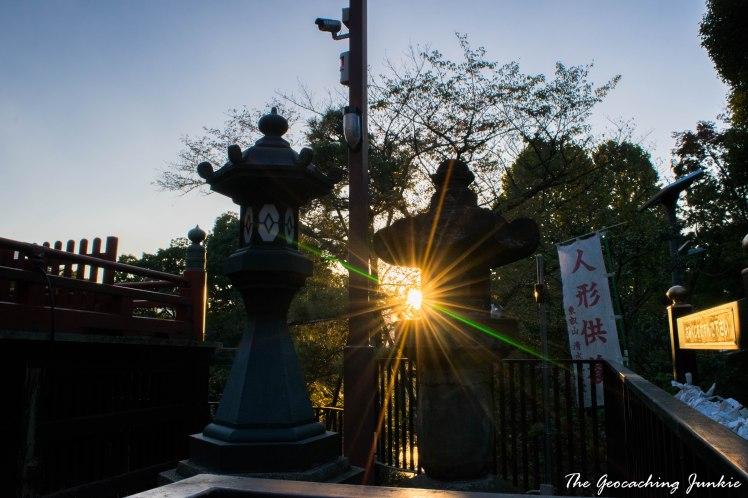 The Geocaching Junkie Kiyomizu Kannon Temple Tokyo