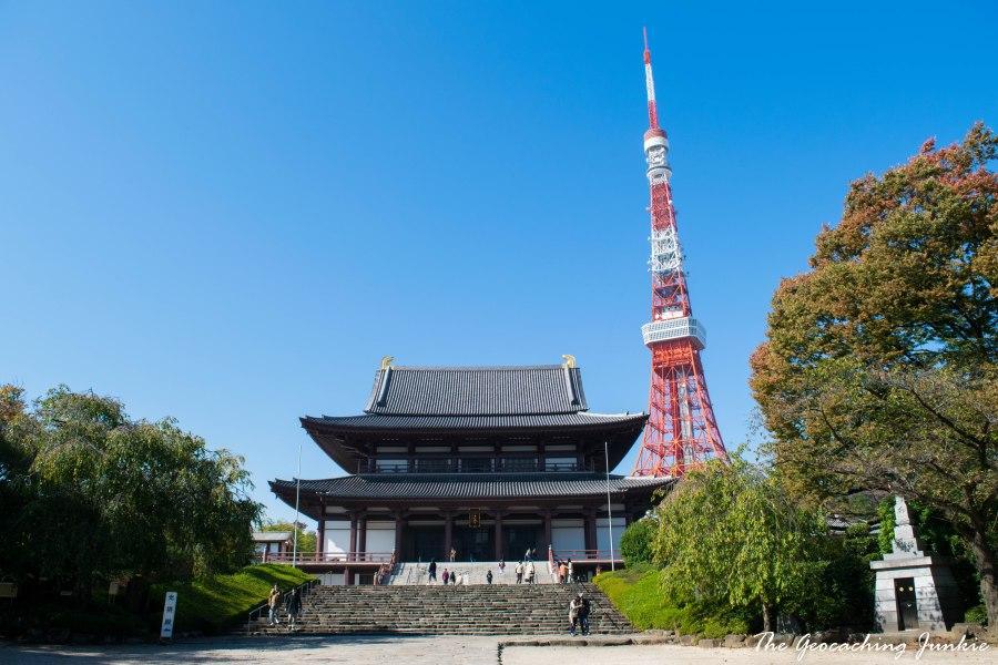 The Geocaching Junkie - Tokyo - Zozoji Temple
