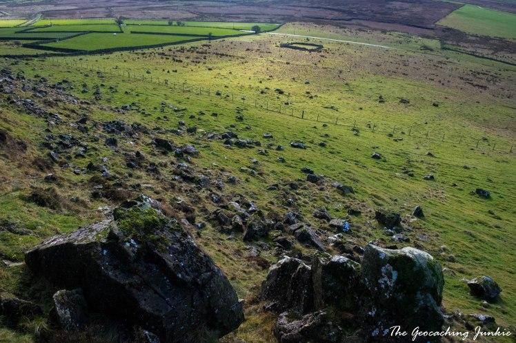 The Geocaching Junkie: Slemish - St Patrick's Mountain