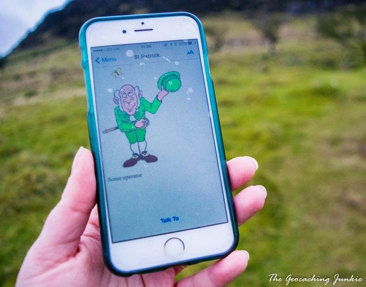 The Geocaching Junkie - Slemish: St Patrick's Mountain