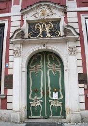 The Geocaching Junkie: Doorways in Gdansk