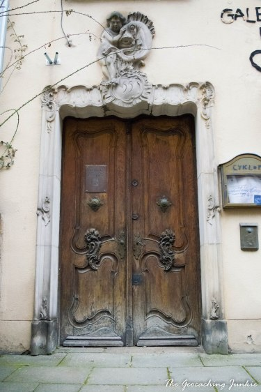 Gdansk doorway