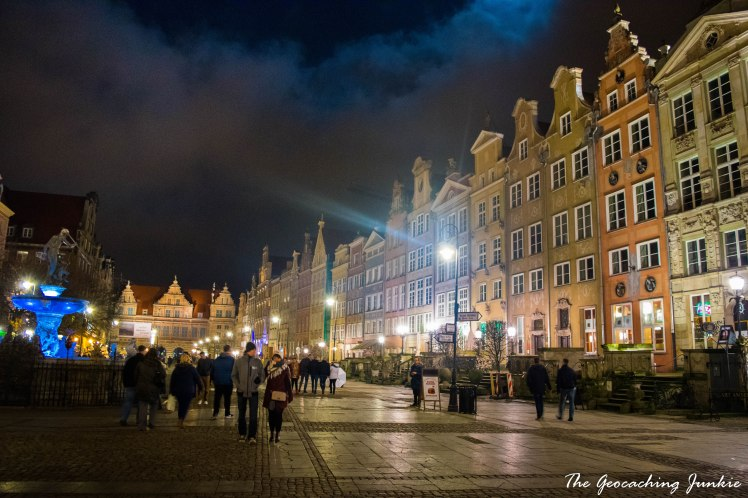 The Geocaching Junkie: Gdansk by night