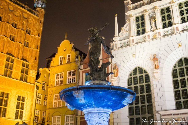 Neptune's Fountain Gdansk