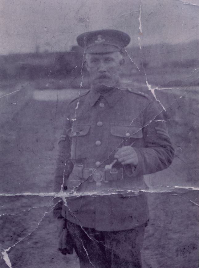 The Geocaching Junkie: Corporal Patrick Murphy, 9th Battalion, Royal Dublin Fusiliers, World War I