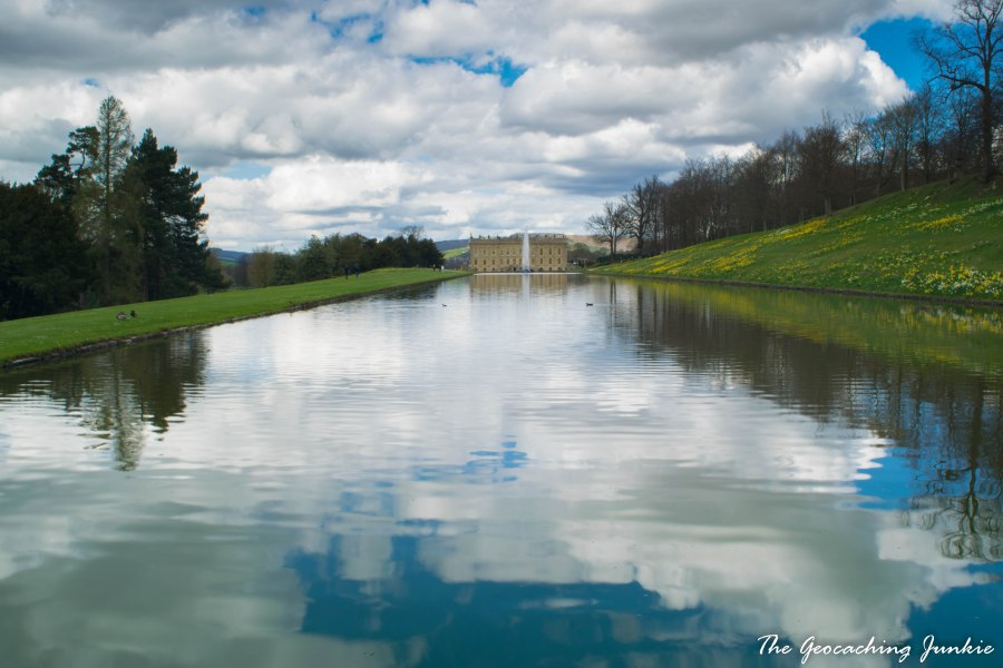 The Geocaching Junkie: Chatsworth House and Gardens