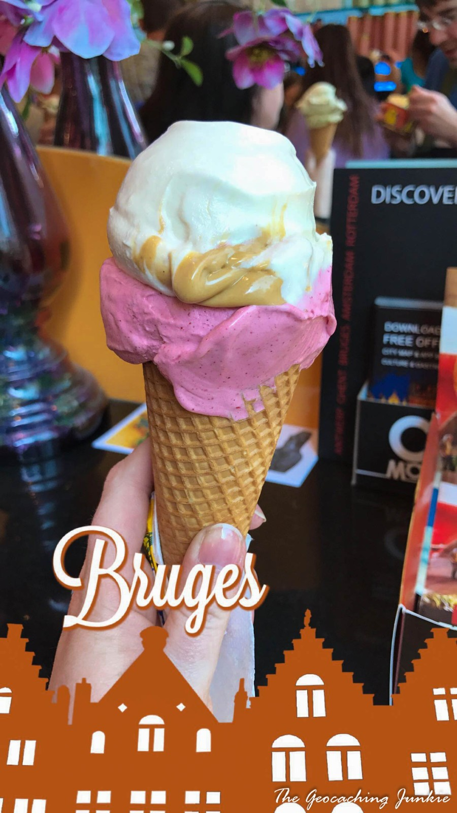 Da Vinci Ice cream Bruges-2