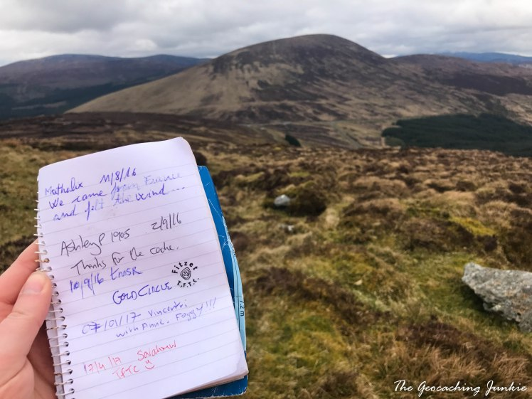 The Geocaching Junkie: April Hike - Turlough Hill